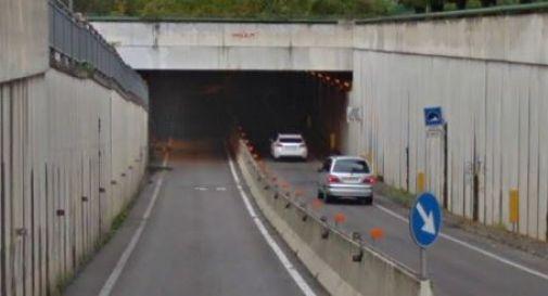 il sottopasso lungo la Postumia nei pressi del collegio Brandolini a Oderzo