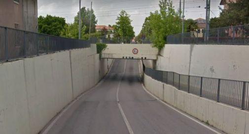 Piove a dirotto, a Oderzo l'acqua filtra dai sottopassaggi. - Oggi Treviso