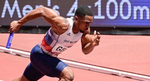 Doping, sospeso britannico della 4x100 vinta dall'Italia a Tokyo