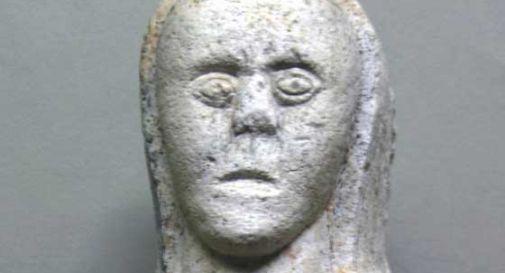 Una statua altomedievale donata al museo del Cenedese