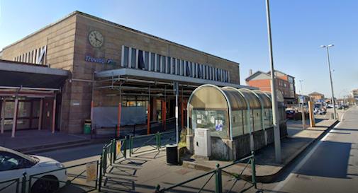 la stazione di Treviso