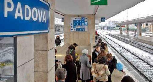 la stazione di Padova
