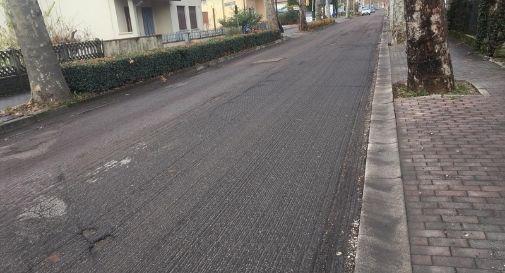 asfaltatura strada solighetto