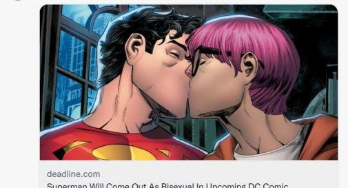 Superman, il nuovo eroe è bisessuale