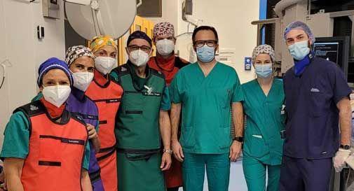 Ospedale di Conegliano, un intervento innovativo per la rimozione dei calcoli biliari
