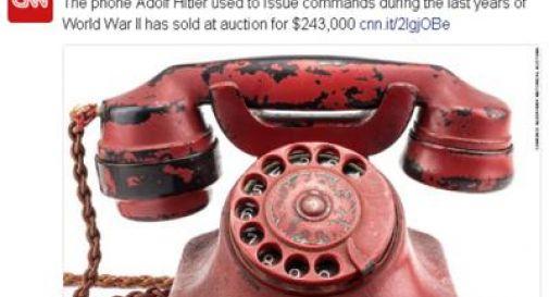 Venduto all'asta il telefono di Hitler: 243mila dollari