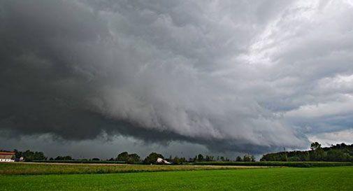 Veneto, temporali e forti rovesci: stato di attenzione