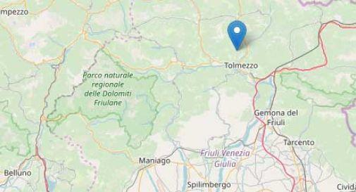 Terremoto in Friuli, trema anche il Veneto