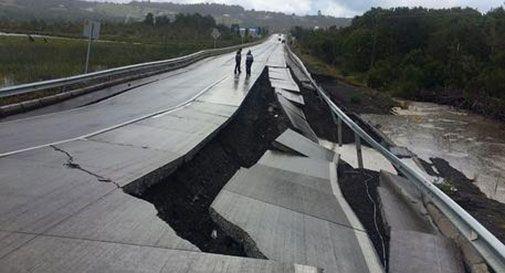Terremoto in Cile: sisma magnitudo 7.7