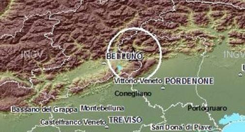 Terremoto in Veneto, scossa avvertita anche in Friuli
