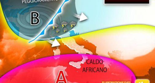 Meteo instabile sul weekend, che tempo farà fino a domenica 19