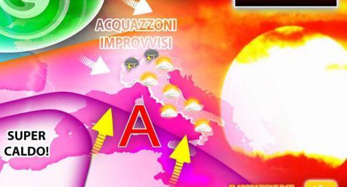 Temporali sull'Italia, poi sole nel weekend 10-11 luglio: il meteo