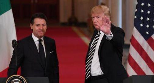 Trump-Conte, colloquio su questioni bilaterali