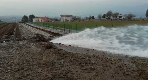 Tranciata condotta principale dell'acqua a Colle Umberto: diversi comuni rimangono senz'acqua