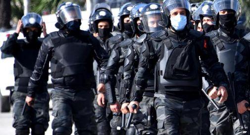 polizia Tunisia
