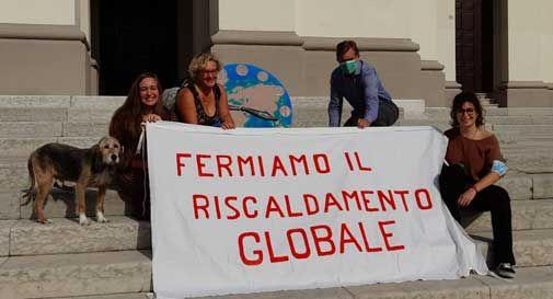 Conegliano, flash mob di Progettiamo Conegliano: