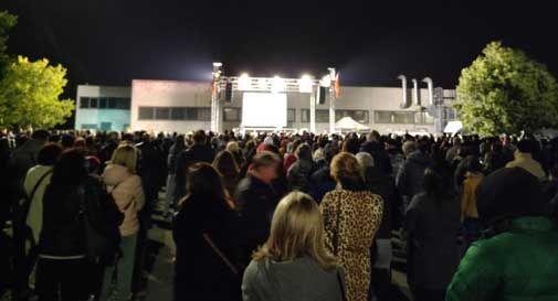 """Santa Lucia di Piave, migliaia di persone all'evento """"Pandemia: delirio o strategia?"""""""