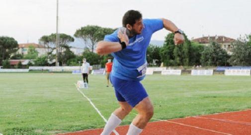 È Leonardo Fabbri la star del Meeting Città di Conegliano: il suo peso a 20.50
