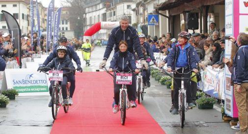 Parata di Hugbike alla Treviso Marathon 1.2