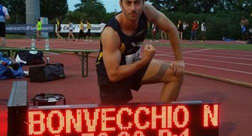 La vittoria del giavellottista Bonvecchio a Conegliano