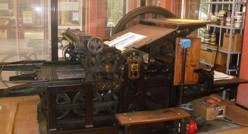 la macchina del 1909