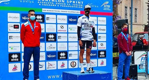 Spinazzè è argento tricolore Under 23 nel Duathlon Sprint