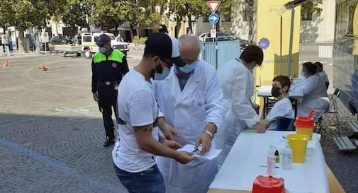 vaccini piazza a Treviso
