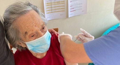 vaccinazione alla RSA di Follina