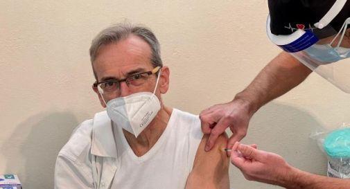il presidente Pauletto si vaccina