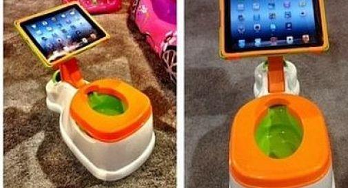 Togliere il pannolino? Oggi è più facile grazie al vasino con l'iPad incorporato