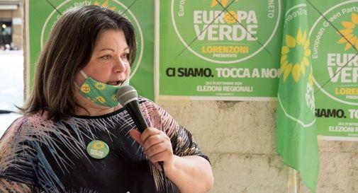 Candidata Lucia Ammendolia dalla lista Europa Verde Verdi Veneto
