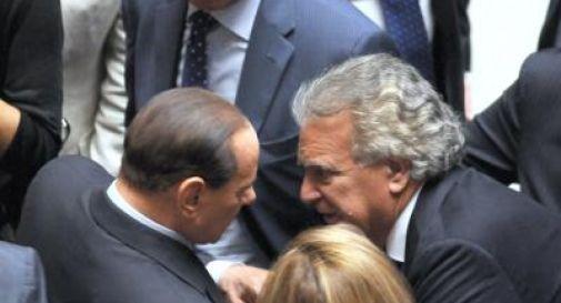 Verdini da Berlusconi ma non lo fanno entrare:
