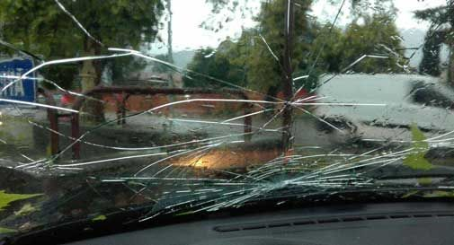 raid contro le auto a Mogliano