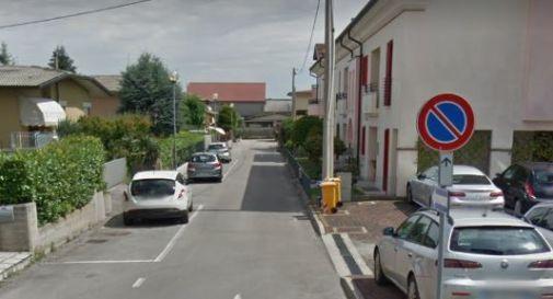 via Manzoni, dov'è accaduto l'episodio