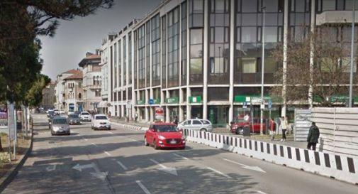 uno scorcio di via Trieste a Padova