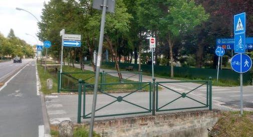 ciclabile viale Vittorio veneto Treviso