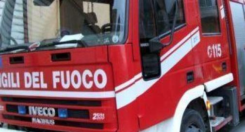 Camion in corsa a fuoco: paura in A4
