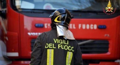 Camion a fuoco a Vidor, il conducente salvo per miracolo