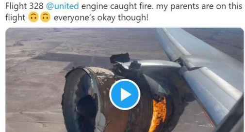 fiamme in volo