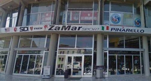 il negozio Zamar di Castelfranco