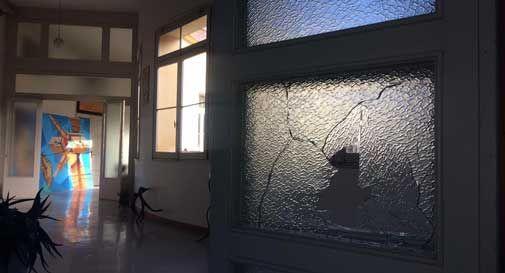 Ancora vandalismi alla Rotonda Papadopoli