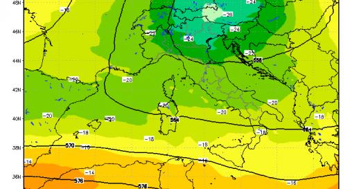 Tempo fresco ed instabile: giugno inizierà sotto tono