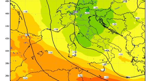 Temperature in aumento ma leggera instabilità atmosferica