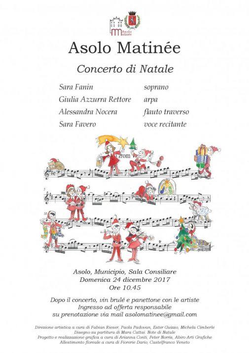 Poesie Di Natale Venete.Asolo Matinee Oggi Treviso News Il Quotidiano Con Le Notizie