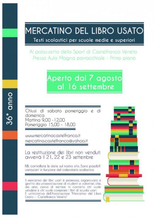 Calendario Mercatini Veneto.Mercatino Del Libro Usato Castelfranco Veneto Oggi